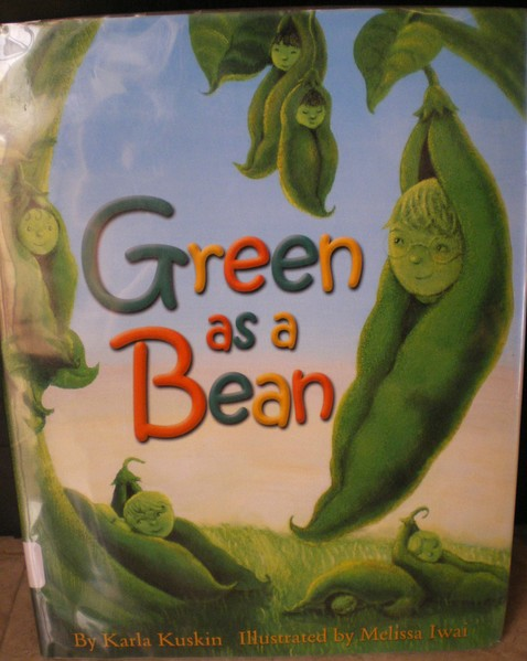 Green as a bean - Karla Kuskin & Melissa Iwai - Album Grean 3 -