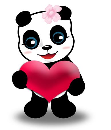 [JEU] Ressemblance avec l'image d'au dessus  - Page 4 Panda_coeur_3