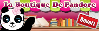 Boutique Pandore Amazon - Les lectures de Liyah
