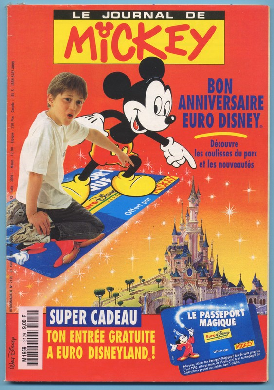 Le journal de Mickey1 - Les lectures de Liyah
