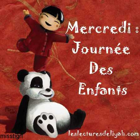 Logo - Mercredi journe des enfants - Les lectures de Liyah