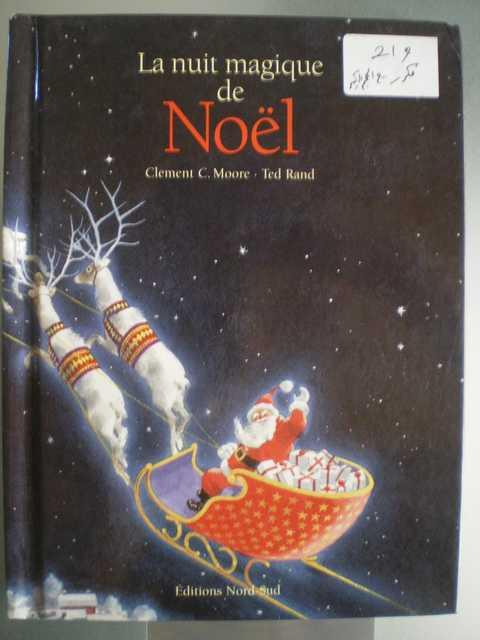 La nuit magique de Noël - Clement C.Moore - Les lectures de Liyah