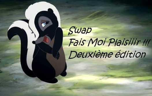 Logo Swap Fais moi plaisiiir !!! 2 - Les lectures de Liyah