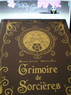 Grimoire de sorcières - B.Lacombe - Les lectures de Liyah
