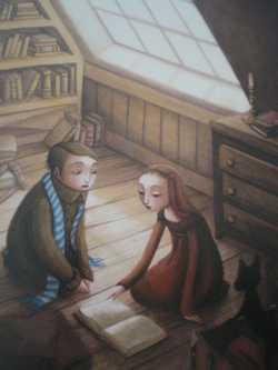 La petite sorcière Int1 - B.Lacombe - Les lectures de Liyah