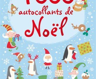1000 autocollants de Noel - Usborne - Les lectures de Liyah
