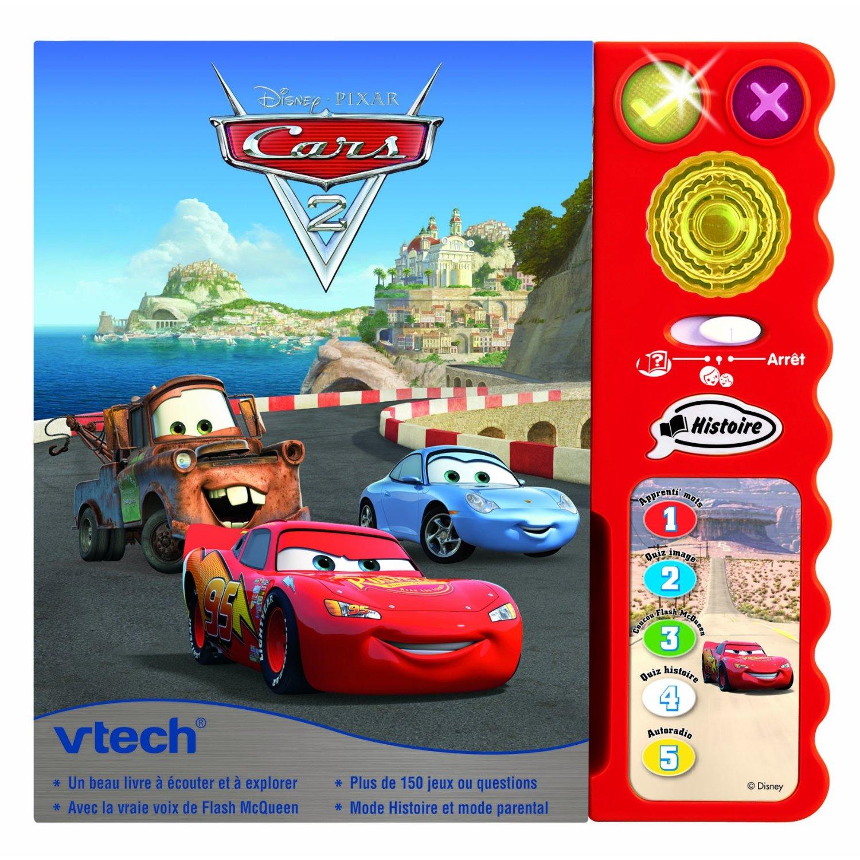 Cars 2 - Vtech - Les lectures de Liyah