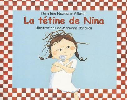 La tétine de Nina - C Naumann-Villemin - Les lectures de Liyah