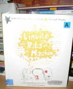 L'invité de Rita et Machin - JP Arrou-Vignod - Les lectures de Liyah