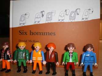 Six hommes - D.McKee - Les lectures de Liyah