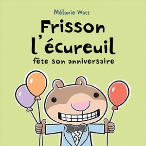 Frisson l'ecureuil - Bayard - Les lectures de Liyah