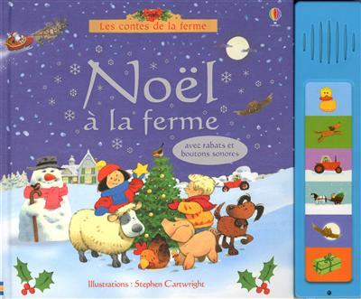 Noel a la ferme - Usborne - Les lectures de Liyah