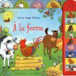 A la ferme - Usborne - Les lectures de Liyah
