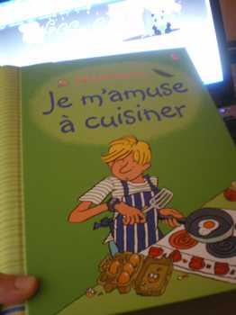 Je m'amuse à cuisiner - Usborne - Les lectures de Liyah