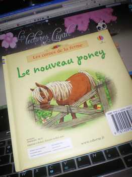 Le nouveau poney - Usborne - Les lectures de Liyah
