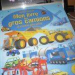 Mon livre des gros camions - Usborne - Les lectures de Liyah