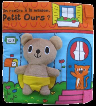 On rentre a la maison petit ours - Tourbillon - Les lectures de Liyah
