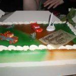 Gâteau Adam 3 ans - Les lectures de Liyah