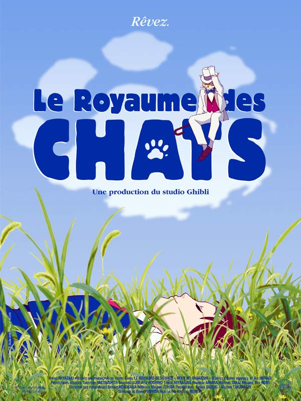 Le royaume des chats - Miyazaki - Les lectures de Liyah