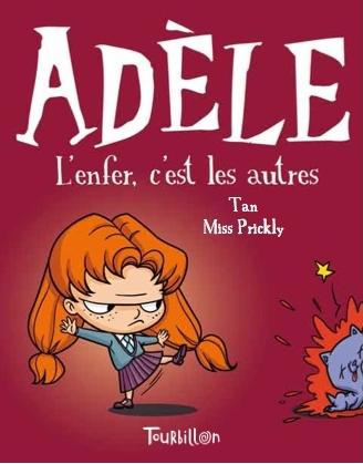 Adèle T.2 - Tan - Tourbillon - Les lectures de Liyah