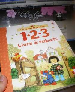 Les contes de la ferme Livre a rabats - Usborne - Les lectures de Liyah