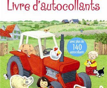 Les contes de la ferme - Livre d'autocollants - Usborne - Les lectures de Liyah
