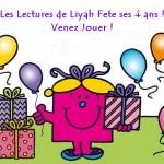 Logo anniversaire 4 ans Liyah