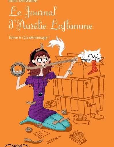 Aurélie Laflamme 6 - India Desjardins - Les lectures de Liyah
