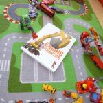 Engins de chantier - Martiniere - Les lectures de Liyah