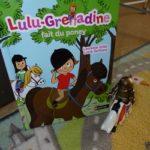 Lulu-Grenadine fait du poney - Nathan - Les lectures de Liyah
