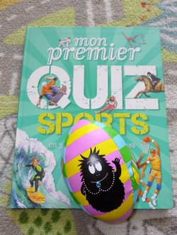 Mon premier Quiz sports - Nathan - Les lectures de Liyah