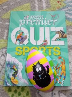 mon premier quiz sports livre enfant manga shojo bd livre pour ado livre. Black Bedroom Furniture Sets. Home Design Ideas
