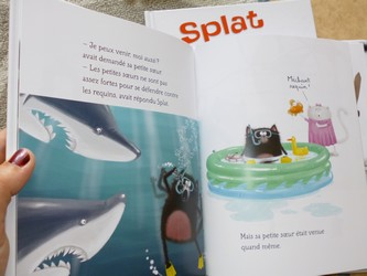 Splat raconte ses vacances - Nathan - Les lectures de Liyah