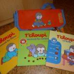 T'choupi sac livres - Nathan - Les lectures de Liyah