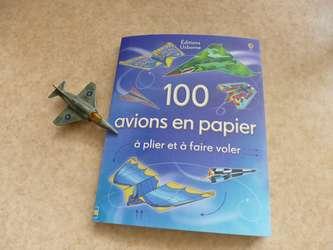 100 avions en papier - Usborne - Les lectures de Liyah