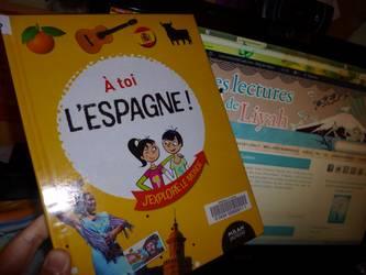 A toi l'Espagne - Milan - Les lectures de Liyah
