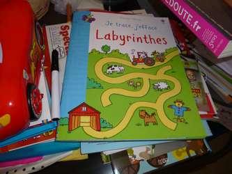Labyrinthes - Usborne - Les lectures de Liyah