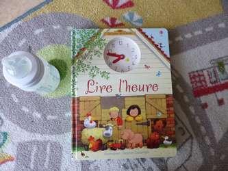 Lire l'heure - Usborne - Les lectures de Liyah