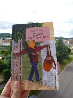 Momo des coquelicots - Syros - Les lectures de Liyah