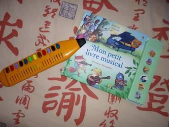Mon petit livre musical - usborne - Les lectures de Liyah