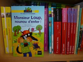 Monsieur Loup, nounou d'enfer - Hatier - Les lectures de Liyah