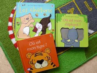 Tout doux - Usborne - Les lectures de Liyah