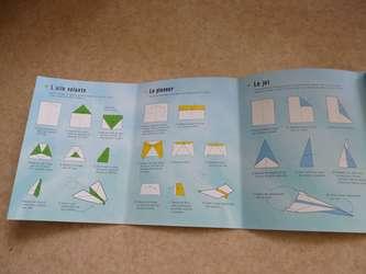 100 avions en papier 3 - Usborne - Les lectures de Liyah