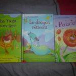 La malle aux livres - Usborne - Les lectures de Liyah