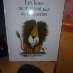 Les lions ne mangent pas de croquette - Seuil - Les lectures de Liyah