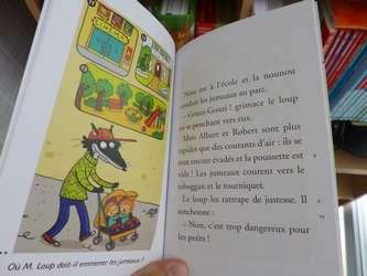 Monsieur Loup, nounou d'enfer 1 - Hatier - Les lectures de Liyah