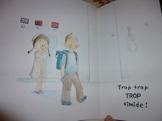 Trop timide 2 - Barcilon - Les lectures de Liyah