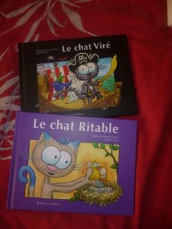 Le chat viré Le chat ritable - Balvernes - Les lectures de Liyah