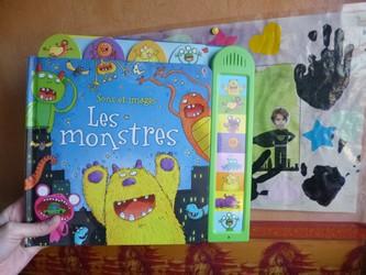 Les monstres - Usborne - Les lectures de Liyah