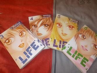 Life T.3 4 5 6 - Manga - Les lectures de Liyah